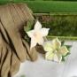 Filzringe mit Blüten