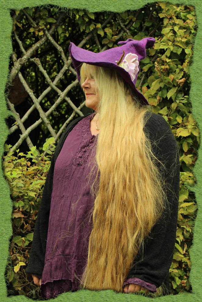 Rapunzel hat den Hexenhut