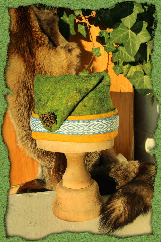 Rus-Mütze mit Borte