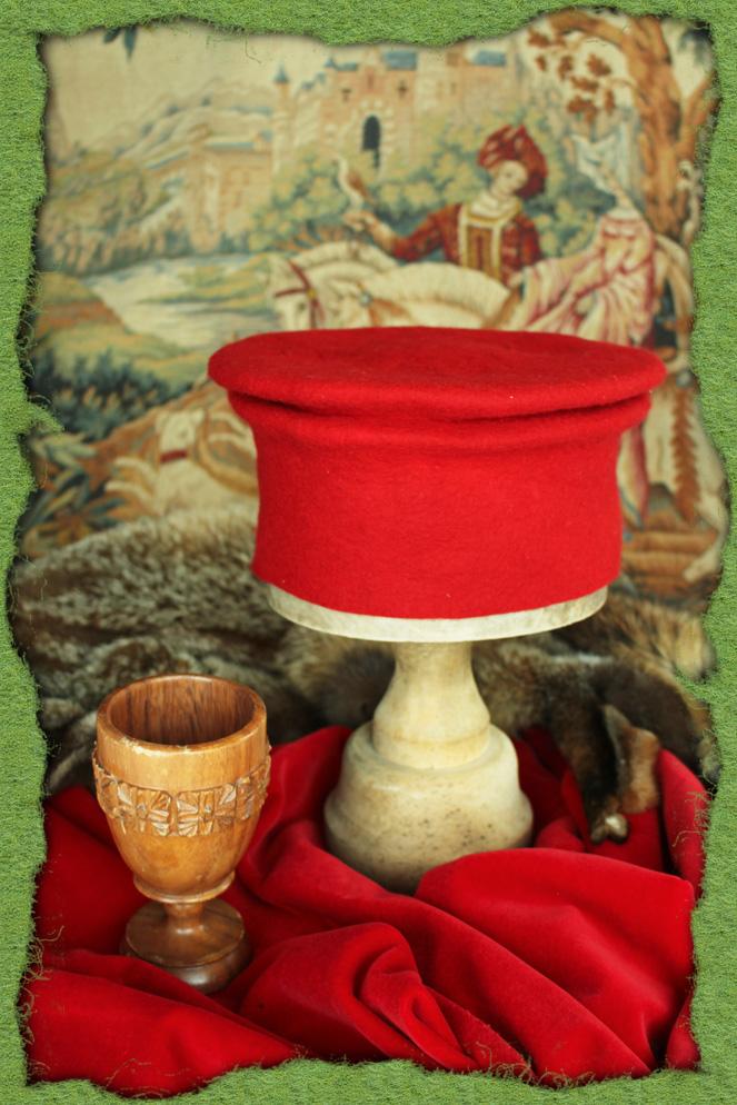 Roter gefilzter Capitanesca
