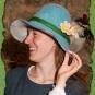 Blauer Hut