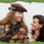 Highlander mit Barrett aus Filz 2