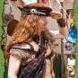 Highlander mit Barrett aus Filz