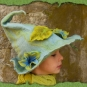 Ligustergefärbter Elfenfilzhut 2