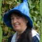 Hexenhut in Blautönen 2