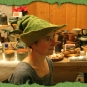 Grüner Hexenhut