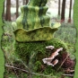 Grüner Moostürmchenfilzhut