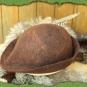 Brauner Bauernhut 2