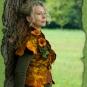 Filzweste in Herbsttönen 1