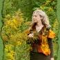 Filzweste in Herbsttönen 4