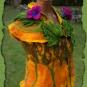 Filzbluse in Herbstfarben 2