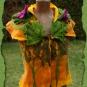 Filzbluse in Herbstfarben 3