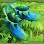 Blau-Grüne Elfenschuhe