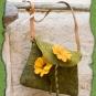 Blumenwiese Blütentasche grün