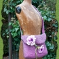 Blütentasche Violett