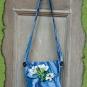 Blaue Tasche Wasserlilie