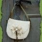 Schafwoll-Tasche Lilien