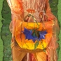 Filztasche in Herbstfarben
